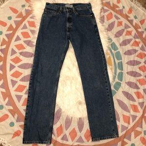 Men's regular fit Levi's jeans